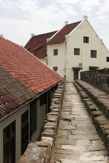Голландский форт в Макассаре