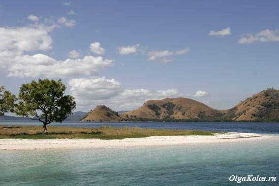 Около острова Комодо