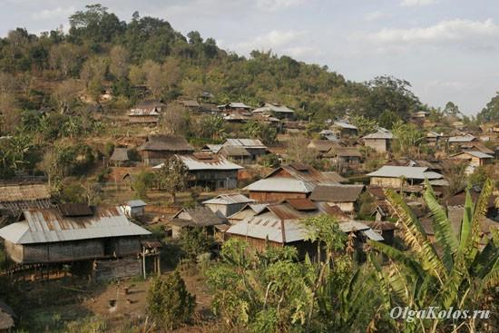 Горная деревня рядом с Сипо
