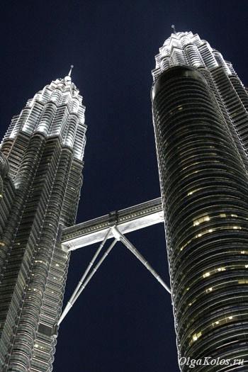 Башни Petronas в Куала Лумпур