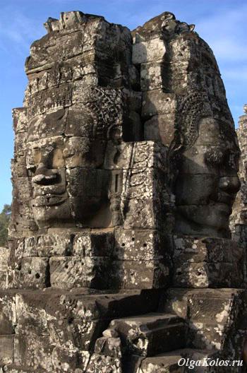 Храм Bayon в Ангкоре