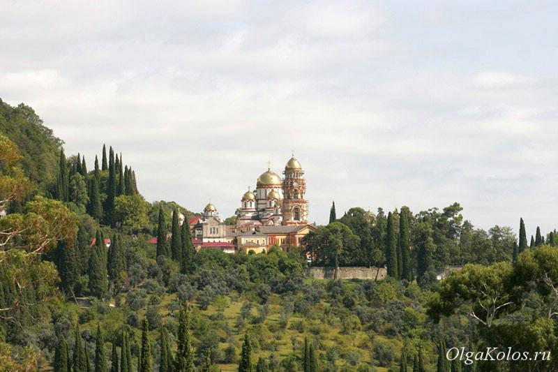Монастырь в Новом Афоне