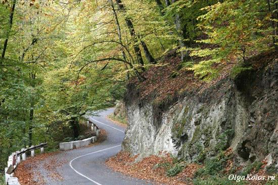 Дорога в Агарсин