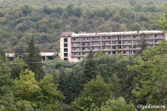 Заброшенная гостиница в Иджеване