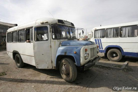 Автовокзал в Гюмри