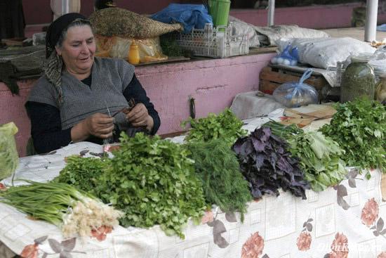 На рынке в Кубе