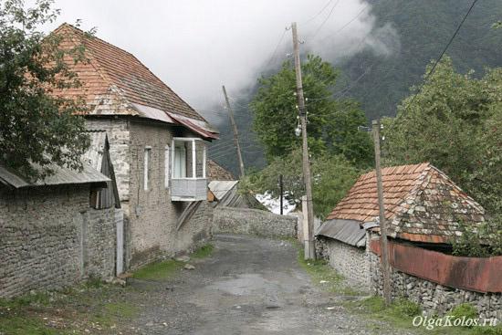 Горная деревня Илису