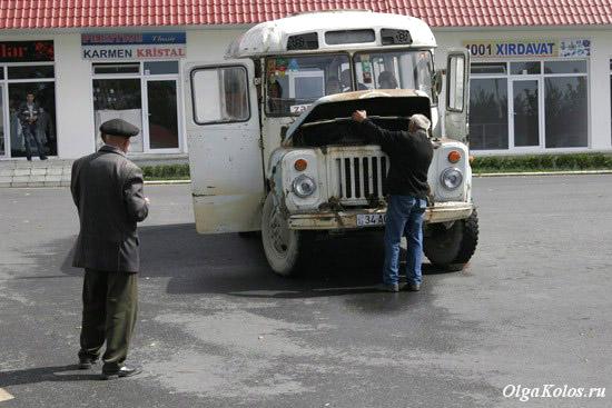 Автовокзал в Кахи