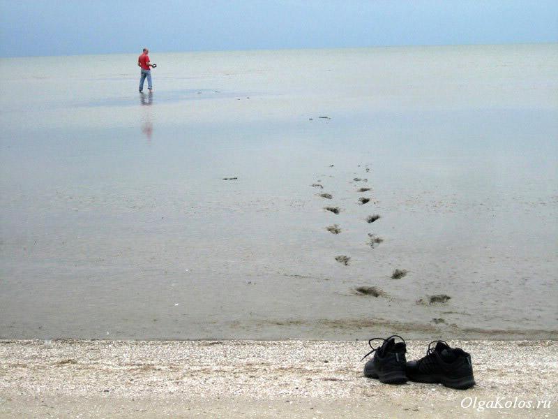 Муляка. Беглицкая коса, Азовское море
