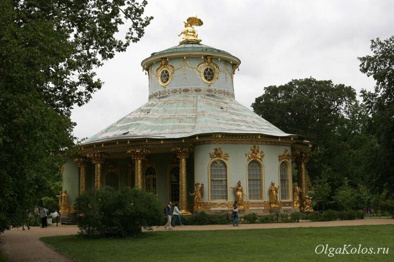 Китайский чайный домик, Дворец Сансуси