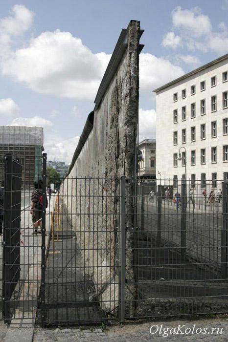 Фрагмент Берлинской стены