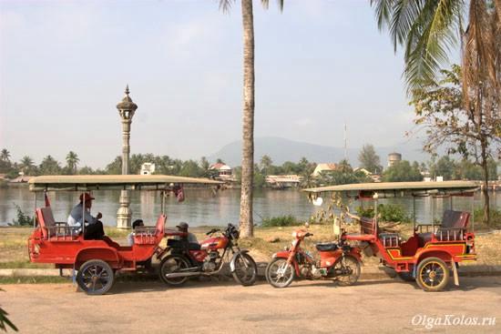 Набережная в Кампоте