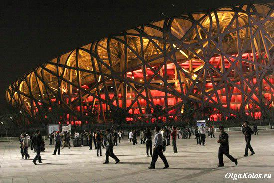 Птичье гнездо, Олимпийский парк