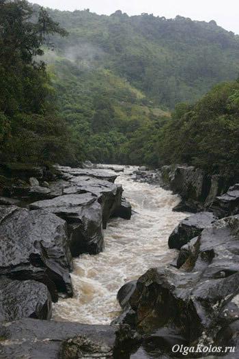 Ущелье El Estrecho рядом с Сан Агустин