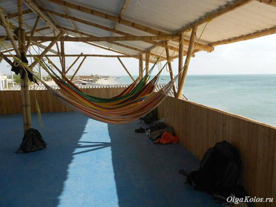 Гамаки для сна в Кабо де ла Вела