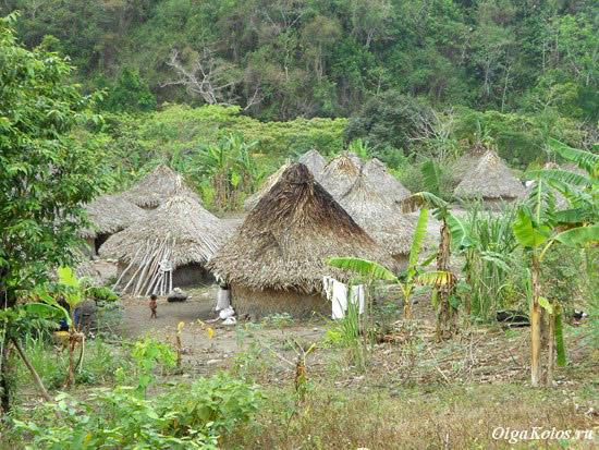 Деревня индейцев коги