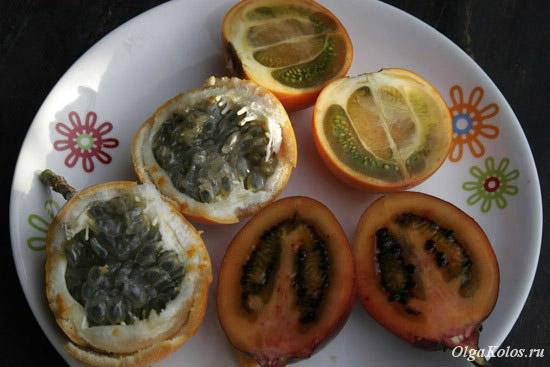 Колумбийские фрукты