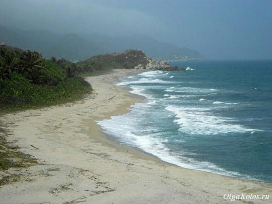 Пляж в национальном парке Тайрона