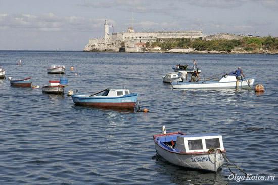 Вид на крепость Гаваны