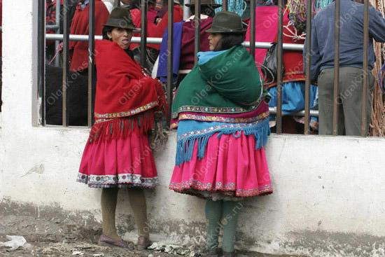Индейский рынок в Гуамоте