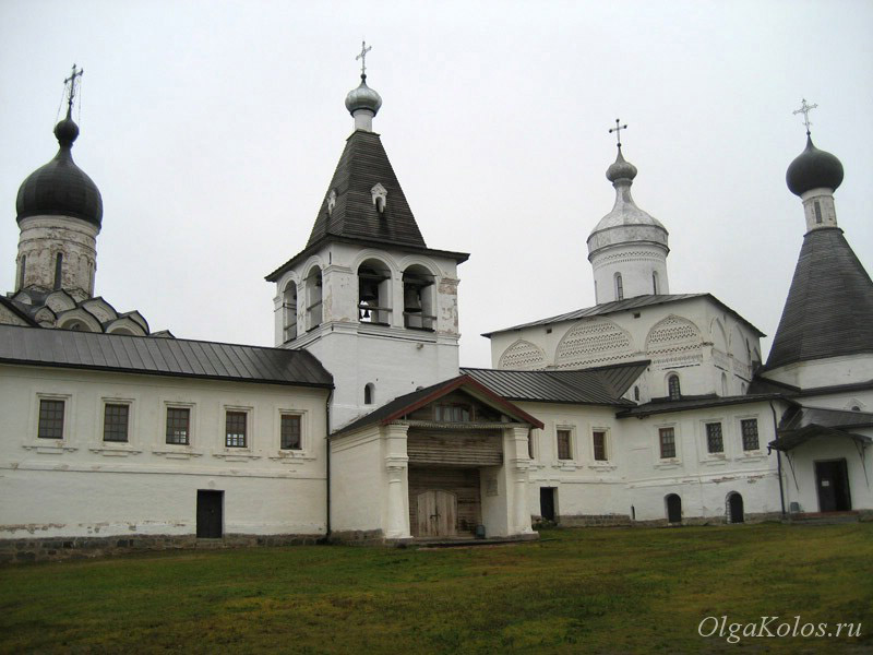Монастырь в Ферапонтово