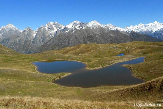 Однодневный поход из Местии к горным озерам