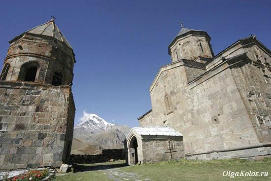 Церкви Святой Троицы в Гергети