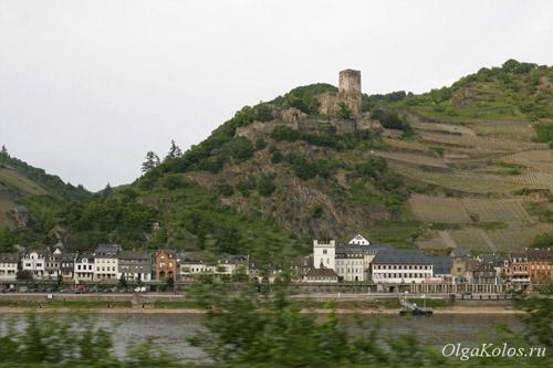 Замки на берегах Рейна
