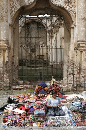 Туристический рынок в Антигуа
