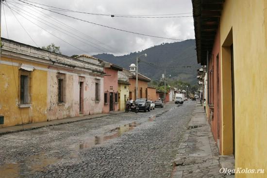 Первый день в Антигуа и последний дождливый день в Гватемале