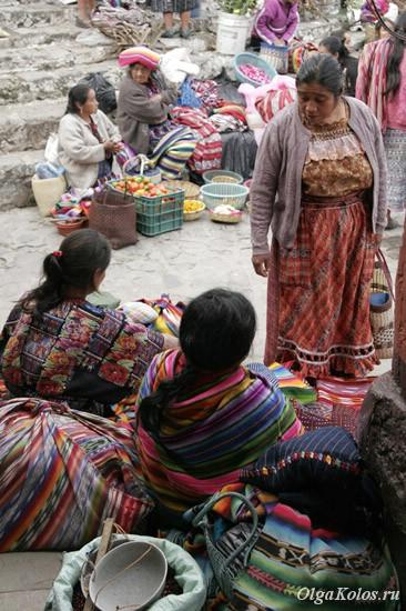 Рынок в Чичикастенанго