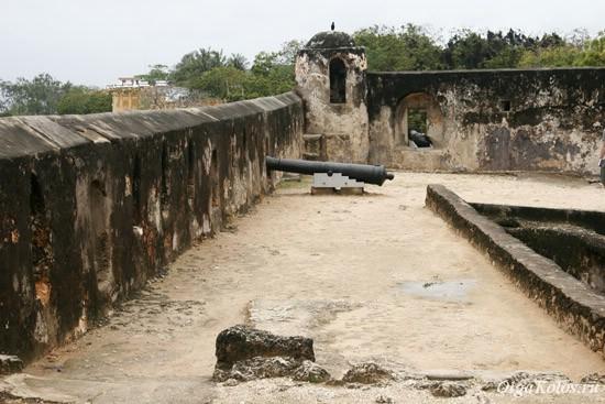 Форт в Момбасе