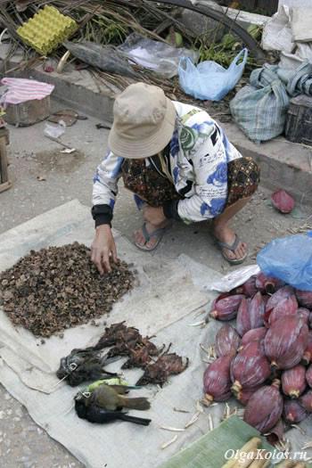 Рынок в Луанг Прабанге