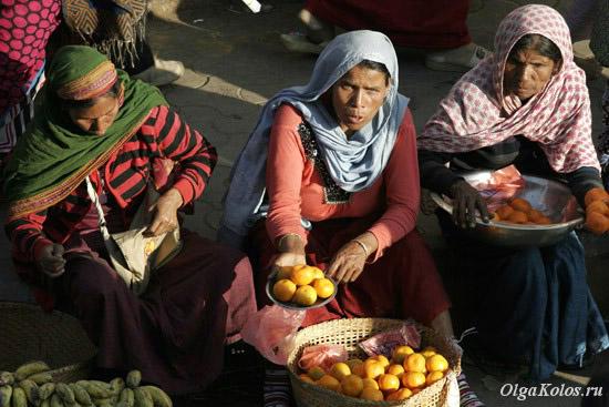 Уличный рынок в Импхале