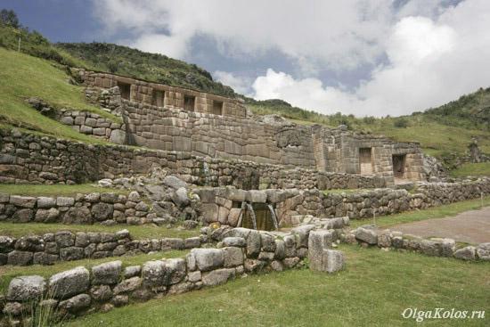 Руины инков в Tambomachay