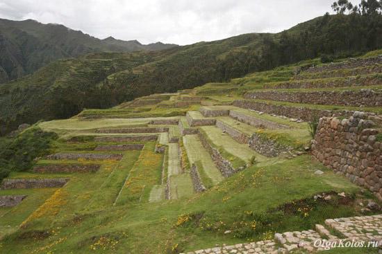 Руины инков в Чинчеро