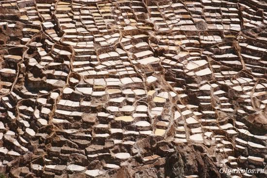 Соляные террасы в Салинас