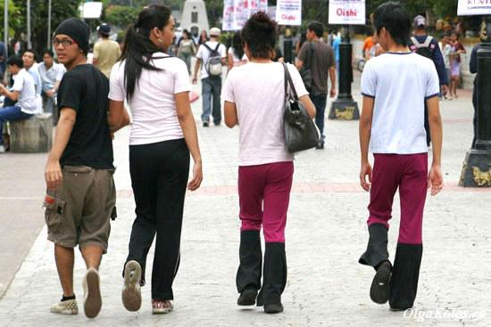Современная молодежь в Маниле ))