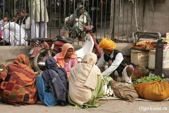Рынок в Бунди