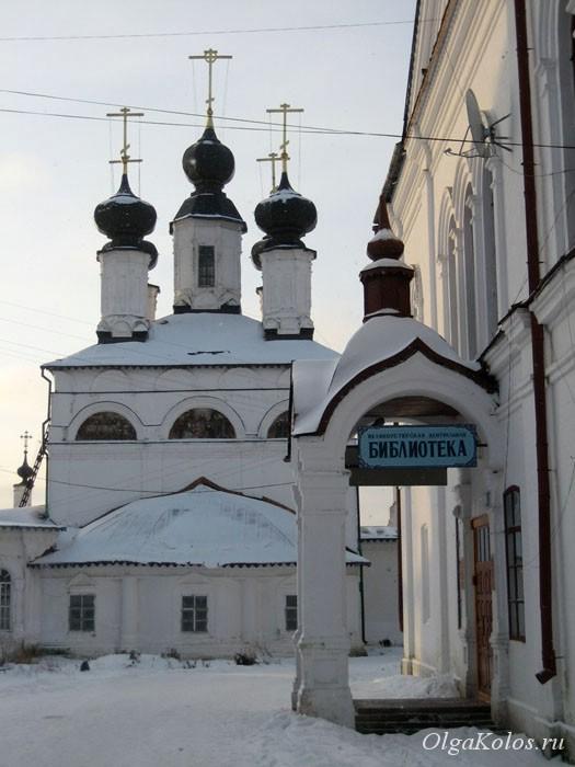 Церковь в Великом Устюге