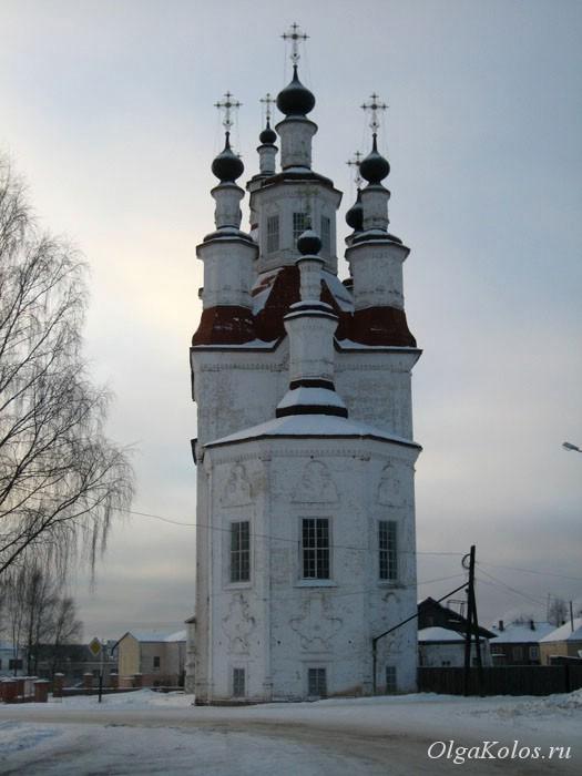 Церковь в Тотьме