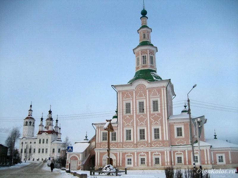Церкви в Тотьме