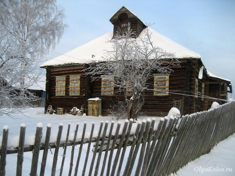 Деревня Вознесенское рядом с Галичем, Костромская область