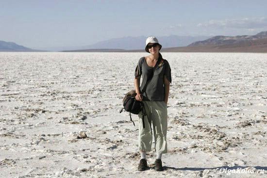Солончак. Национальный парк Долина Смерти