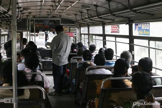Обычный междугородний автобус