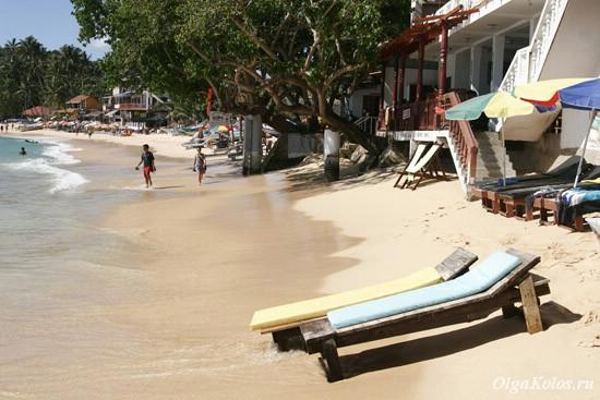 Пляж в Унаватуне