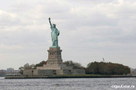 Статуя Свободы. Вид с парома на Staten Island