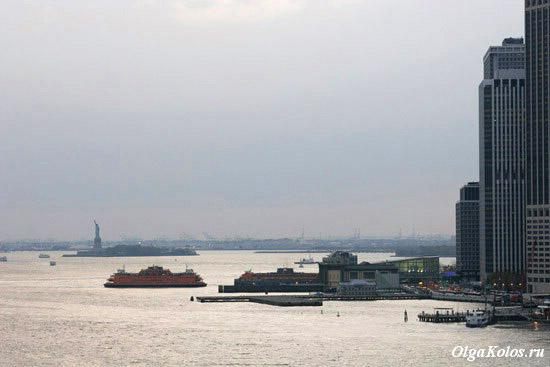 Вид с Бруклинского моста