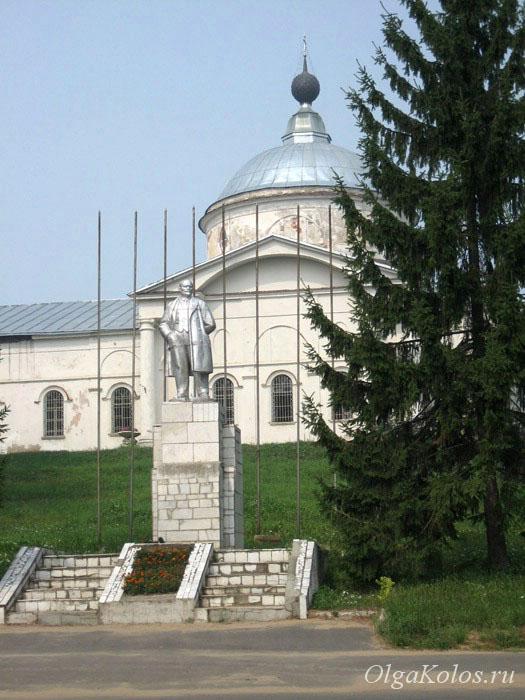 Памятник Ленину. Мышкин