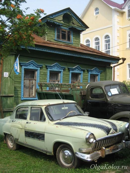 Музей ретро-автомобилей. Мышкин